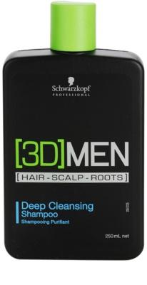 Schwarzkopf Professional [3D] MEN curatarea profunda a scalpului